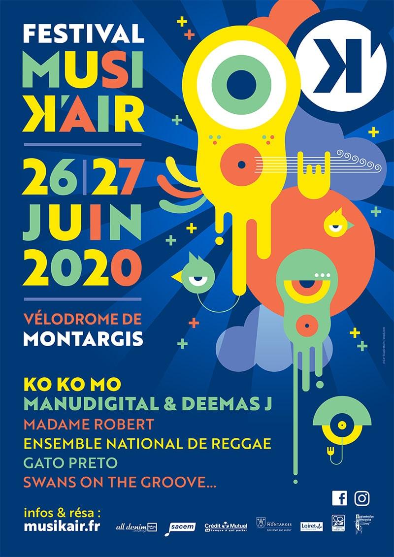 Musikair 2020 - Festival annulé (COVID 19)